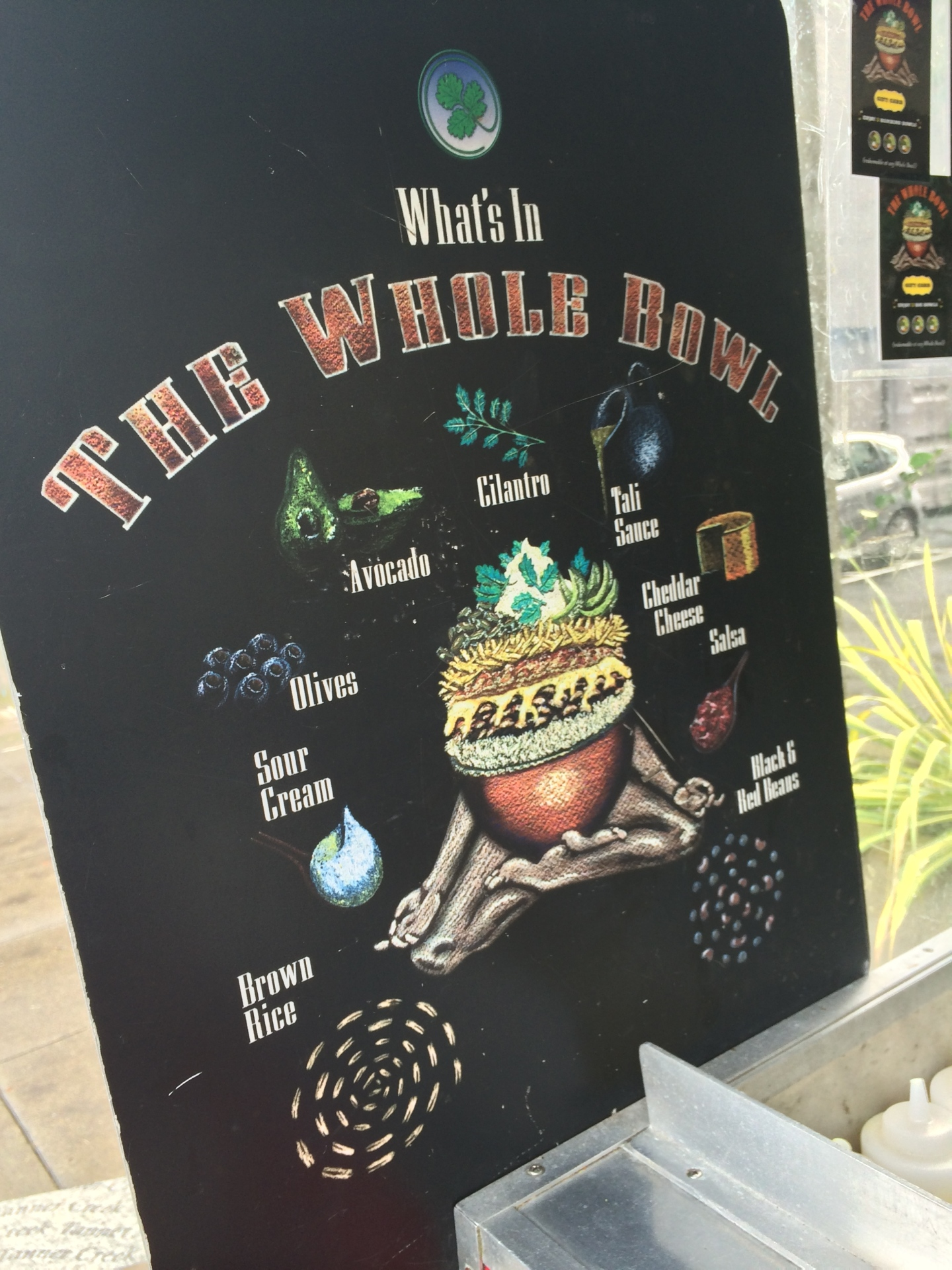 whole bowl food cart